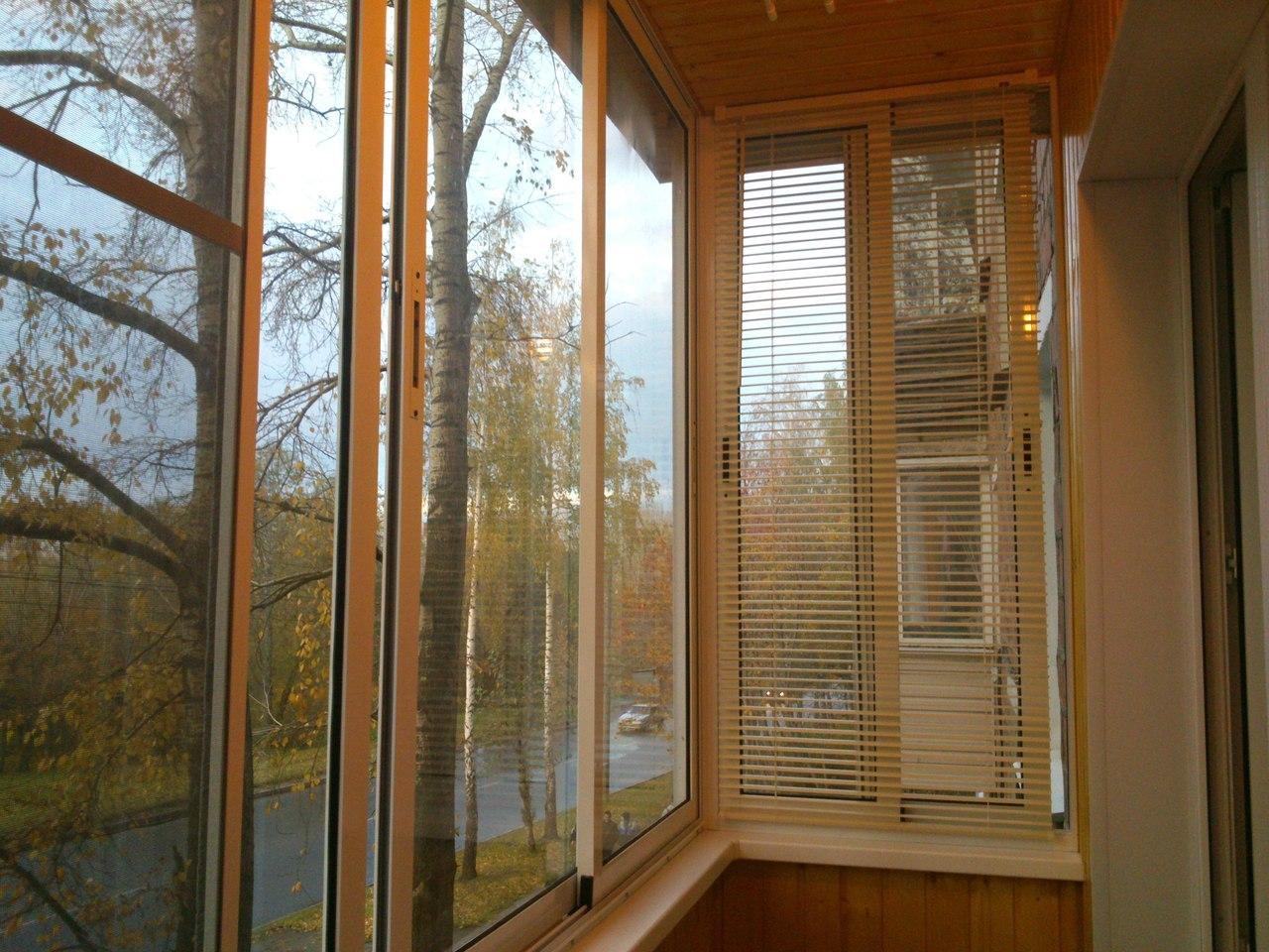 """Остекление балкона, лоджии """"под ключ"""", орел."""