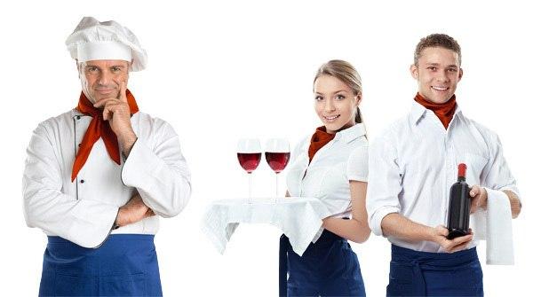 Официант-бармен в кафе с проживанием и питанием